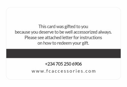 Gift Card - FC Accessories